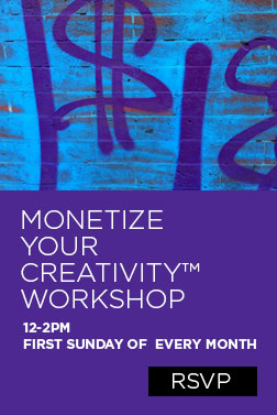 Monetize Your Creativity Workshop